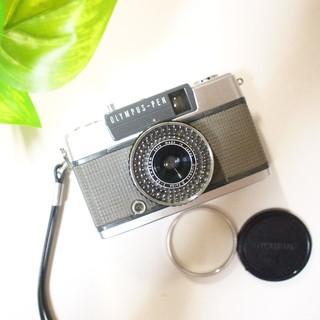 オリンパス(OLYMPUS)の【保証有り】美品クラス・整備済み・完動品♪OLYMPUS PEN EE2(フィルムカメラ)