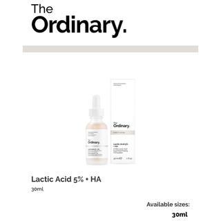 新品 Theordinary LacticAcid 5%+HA 乳酸 ピーリング(ゴマージュ/ピーリング)