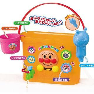 ☆送料無料★お風呂用おもちゃ アンパンマン あそびいっぱい! よくばりバケツ(お風呂のおもちゃ)