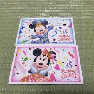 ディズニー(Disney)のディズニーシー 使用済チケット 35周年(遊園地/テーマパーク)