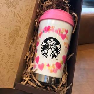 Starbucks Coffee - スターバックス  バレンタイン2019ステンレスToGoロゴタンブラー