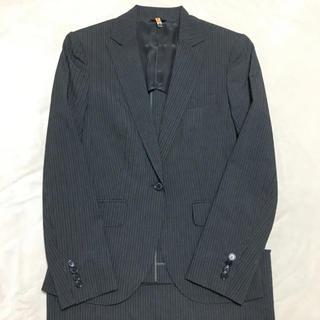 スーツカンパニー(THE SUIT COMPANY)のスーツカンパニー セットアップスーツ グレーストライプ サイズ40(スーツ)