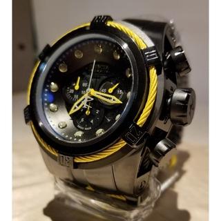 インビクタ(INVICTA)のInvicta 53mm ボルト ゼウス イエロー&ブラックSWISS MADE(腕時計(アナログ))