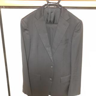 コムサメン(COMME CA MEN)のコムサメン  黒無地スーツ(セットアップ)