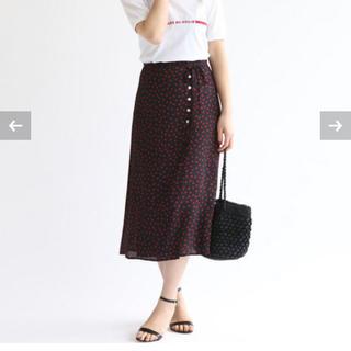イエナ(IENA)の2018SS IENA ドットスカート(ひざ丈スカート)