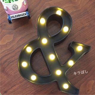お洒落✨マーキーライト 照明 ライト マーキーライト アンド マーキーライト &(フロアスタンド)