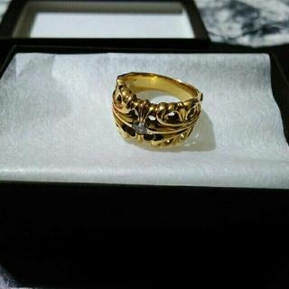 アヴァランチ(AVALANCHE)のアヴァランチ AVALANCHE 10k YG リング 指輪 アバランチ ダイヤ(リング(指輪))