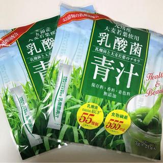 九州産大麦若葉使用 乳酸菌青汁九州産  21袋入 ×3セット(青汁/ケール加工食品 )