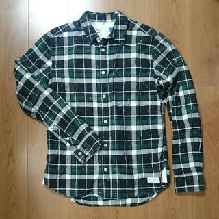 アディダス(adidas)のアディダスオリジナルス 三角ドットチェックシャツ(シャツ)