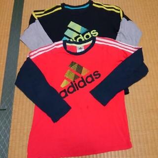 アディダス(adidas)の子供服 アディダス長袖Tシャツ2枚(Tシャツ/カットソー)