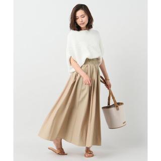 ノーブル(Noble)のNoble 17ss スピック&スパン タイプライタータックギャザースカート (ロングスカート)