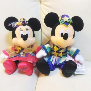 ディズニー(Disney)の【新品未使用】ミッキー ミニー ぬいぐるみ(ぬいぐるみ)