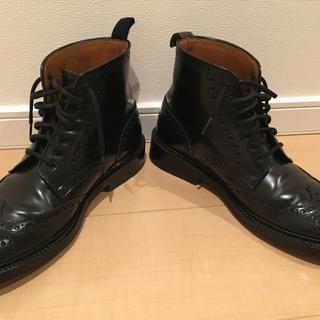 オールデン(Alden)のジョンストン&マーフィー コードバン フルブローグ ブーツ(ブーツ)