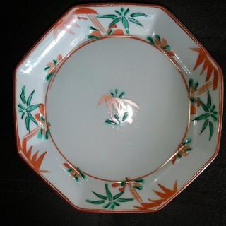 八角の皿(陶芸)