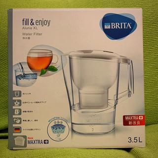 ブリタックス(Britax)の BRITAアルーナ 3.5L (カートリッジ1個付属) ブリタ 新品未使用(浄水機)