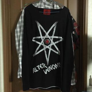 オルターべノム(ALTER VENOMV)のALTER VENOMV ロンt tシャツ(Tシャツ/カットソー(七分/長袖))
