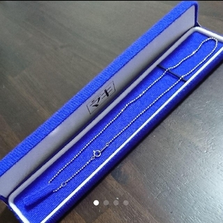 ジュエリーマキ(ジュエリーマキ)のジュエリーマキ プラチナ ネックレス  pt850 未使用に近い(ネックレス)