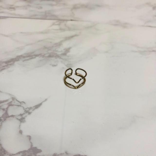 ゴールドリング     レディースのアクセサリー(リング(指輪))の商品写真