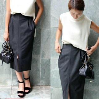 イエナ(IENA)のTOPカラー MIDCALF スカート(ひざ丈スカート)