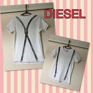 ディーゼル(DIESEL)のDIESELだまし絵Tシャツ(Tシャツ(半袖/袖なし))