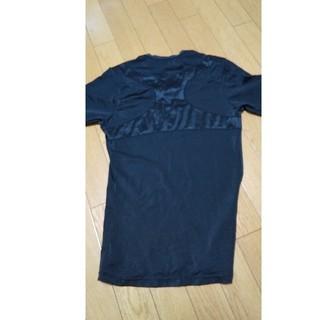 メンズ  スパッツと背筋矯正Tシャツセットにして(レギンス/スパッツ)