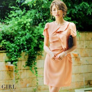 ガール(GIRL)のGIRL ワンピース パーティドレス(ミディアムドレス)