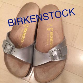 ビルケンシュトック(BIRKENSTOCK)のレアなシルバー♥︎ビルケン♥︎送料込(サンダル)