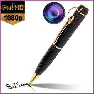 【高画質HD♪】1080P ボールペン型 小型カメラ 金黒(その他)
