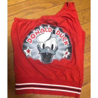 ディズニー(Disney)のドナルドトップス(カットソー(半袖/袖なし))