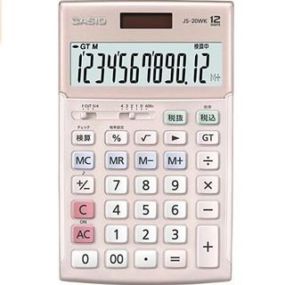 カシオ(CASIO)のカシオ電卓 JS-20 ピンク(オフィス用品一般)