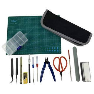 送料無料❣️初心者 プラモデル 工具 15点 セット プラモ ハンドメイド(模型/プラモデル)