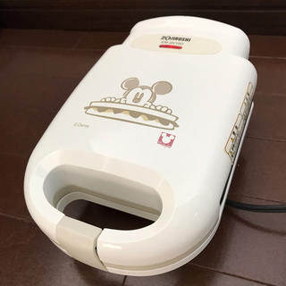ディズニー ミッキーマウスのホットサンドメーカー 象印製 送料無料(サンドメーカー)