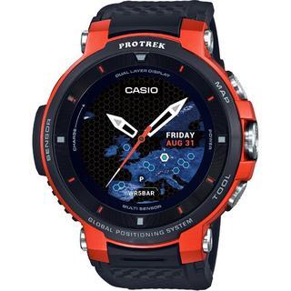 カシオ(CASIO)の超人気モデル カシオ プロトレックスマート  WSD-F30-RG  (腕時計(デジタル))