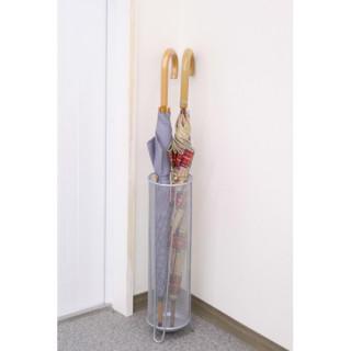 メッシュメタルシリーズ メッシュメタルスリム傘立て 収納用品 玄関 傘立て(玄関収納)