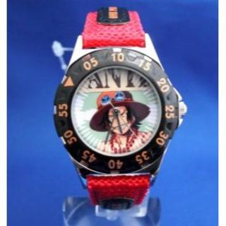 ワンピースダイバーウォッチ-エース腕時計(腕時計)