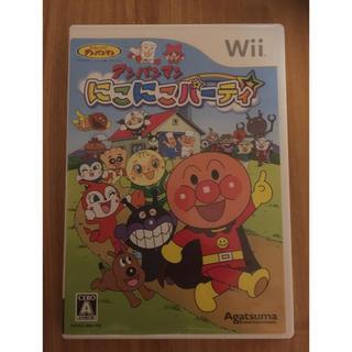 ウィー(Wii)のWii ゲーム アンパンマン(家庭用ゲームソフト)