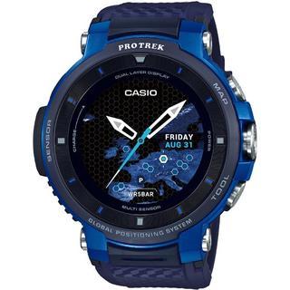 カシオ(CASIO)の超人気モデル カシオ  プロトレックスマート WSD-F30-BU (腕時計(デジタル))