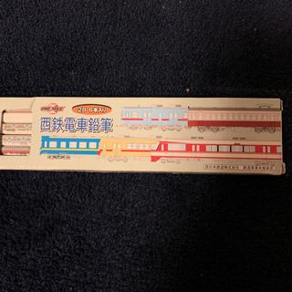 トンボエンピツ(トンボ鉛筆)の未使用 美品/西鉄電車鉛筆 2B6本入 西日本鉄道 鉄道事業本部承認☆貴重☆値下(その他)