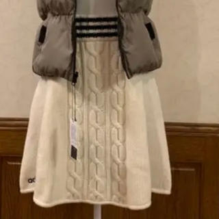 アディダス(adidas)のアディダス ニットスカート新品❣️(ひざ丈スカート)