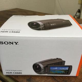 ソニー(SONY)のSony ハンディカム HDR-CX680 920万画素 64GB内蔵 ズーム(ビデオカメラ)