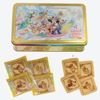 ディズニー(Disney)のグランドフィナーレ クッキー缶 (菓子/デザート)