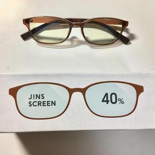 ジンズ(JINS)のJINS SCREEN BLUE LIGHT 40% CUT(サングラス/メガネ)