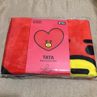 ボウダンショウネンダン(防弾少年団(BTS))のBT21 TATA ブランケット(K-POP/アジア)