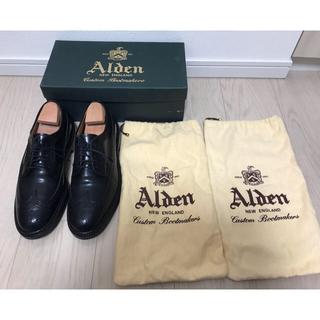オールデン(Alden)の【超美品】オールデン 9751 ブラック 7ハーフ(ドレス/ビジネス)