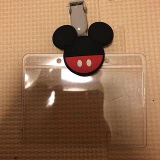 ディズニー(Disney)のミッキー名札ホルダー(その他)