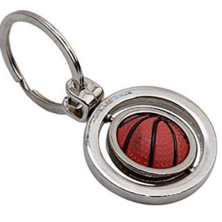 キーホルダーキーリング‼️バスケットボール(バスケットボール)