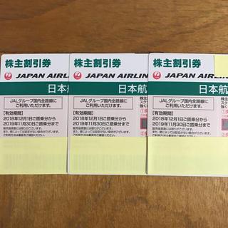 ジャル(ニホンコウクウ)(JAL(日本航空))のJAL 日本航空 株主割引券(航空券)