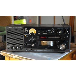 ソニー(SONY)のsony ICF-6800 修理動作品結構美品a20(ラジオ)