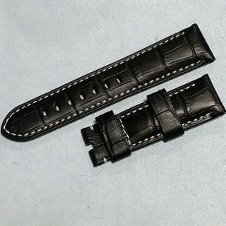 パネライ(PANERAI)の尾錠専用!高級本革ベルト(レザーベルト)