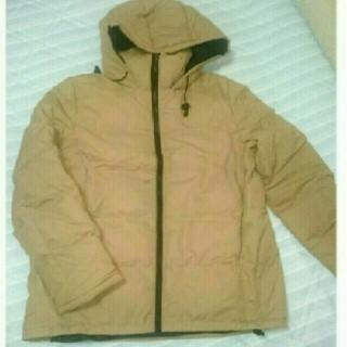 GU - GU中綿ジャケット ベージュ Mサイズ ユニクロ